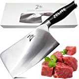 """ZELITE INFINITY Cleaver Knife >> Comfort-Pro Series >> High Carbon Stainless Steel Knives X50 Cr MoV 15 - 7"""" (178mm)"""