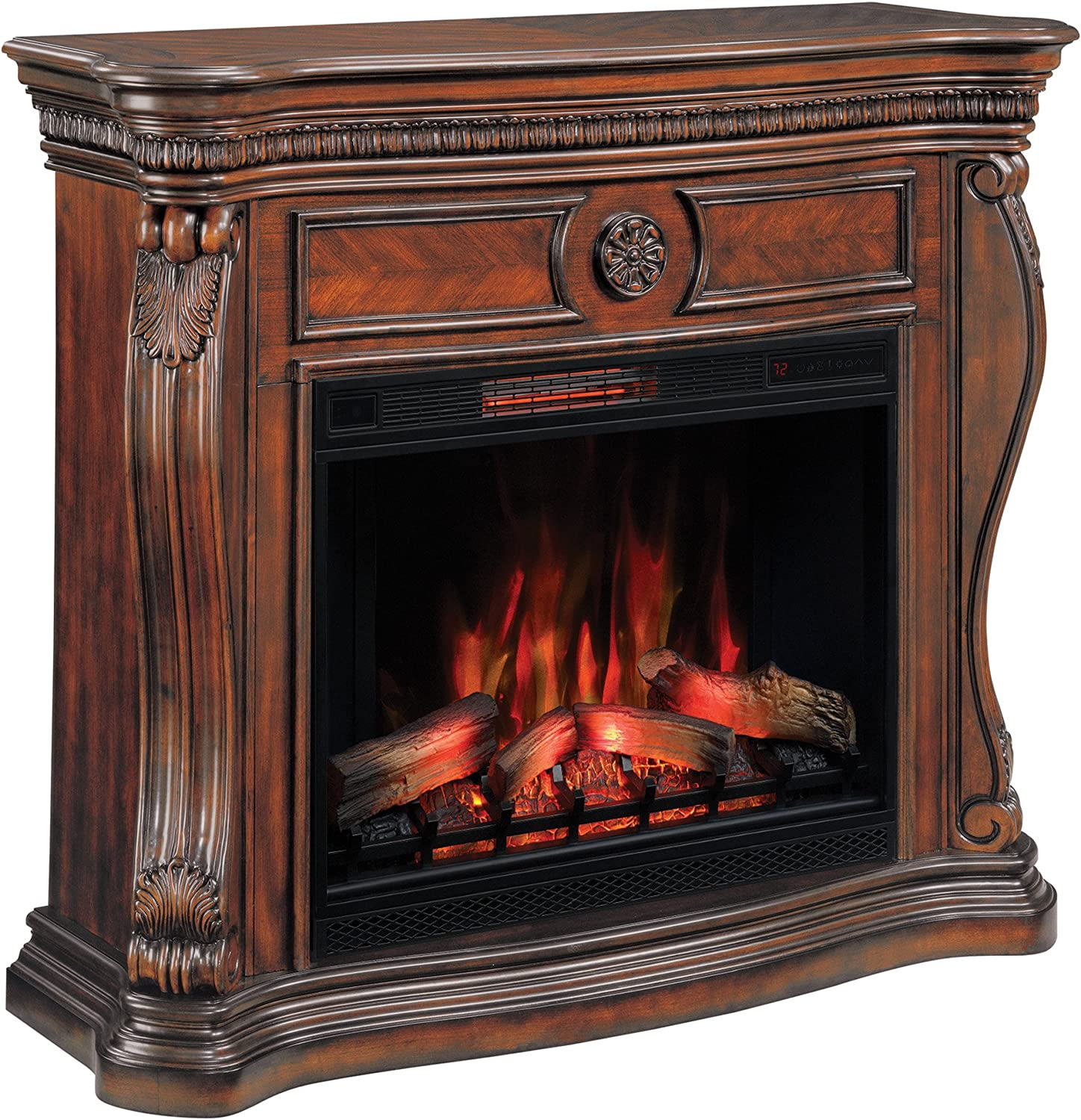 MantelEmpire Separately Sold Classicflame Lexington Wall Fireplace Cherryelectric tCrxhBsQdo