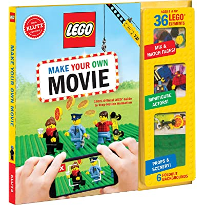 Klutz Lego Make Your Own Movie, Multicolored: Home & Kitchen