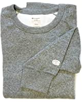 Champion Men's Heritage Marled Crew Fleece Sweatshirt Granite Heather