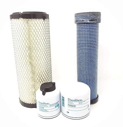 Amazon.com: Filter Service Kit Bobcat 335 337 341 - Air(2) Fuel Oil