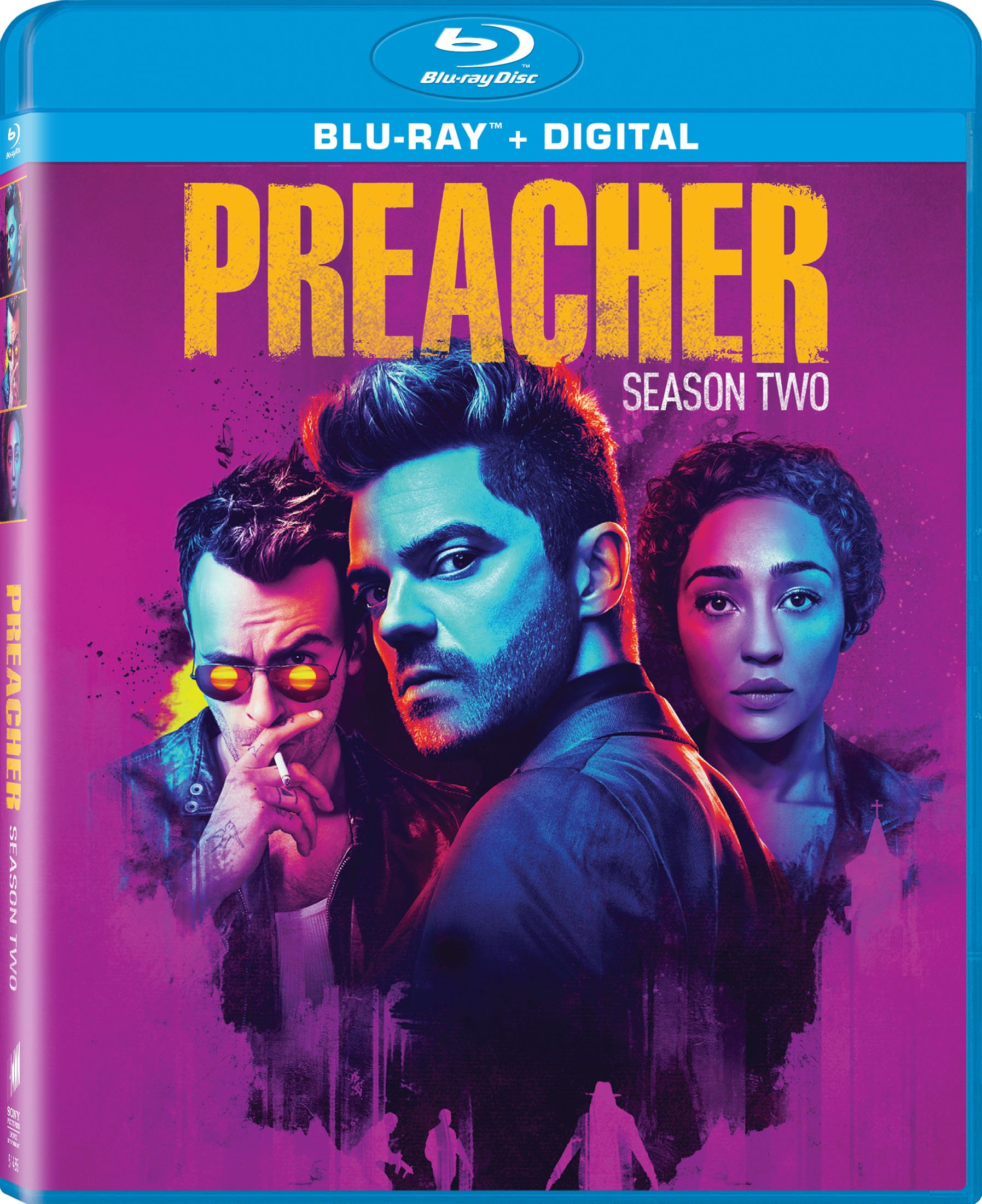 Preacher: Season Two (Ultraviolet Digital Copy, Boxed Set, Widescreen, Dolby, AC-3)