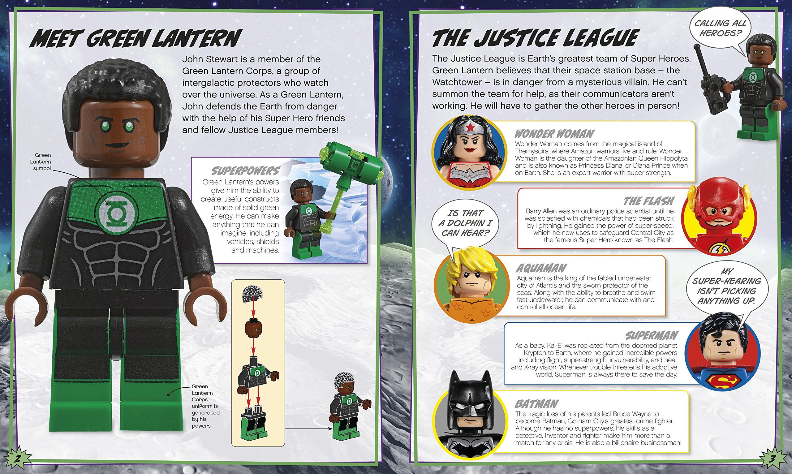 Dc Comics Super Heroes Build Your Own Adventure Book And Minifig