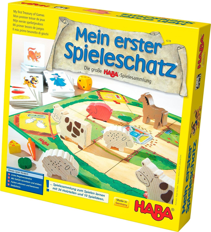 Haba Mi Primer Tesoro De Juegos La Gran Coleccion De Juegos De Haba