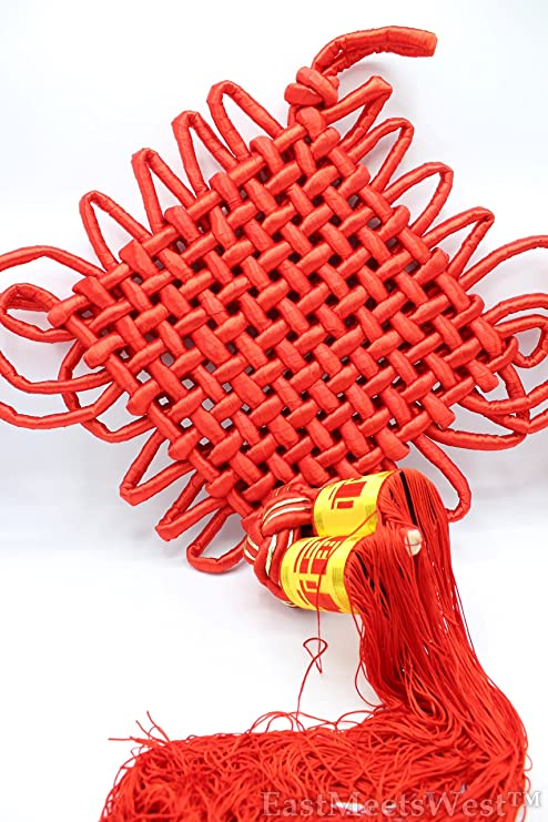Wealth Chinese Knot Feng Shui Lucky Copper Coin Ropes Home Car Hanging Decor KI