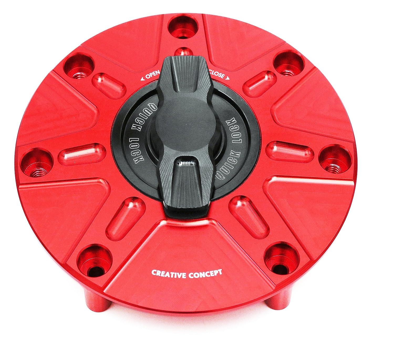 NIMBLE Red CNC Quick Lock Fuel Gas Cap For Honda CBR 600 RR CBR1000RR CBR929 CBR954 2003-2017
