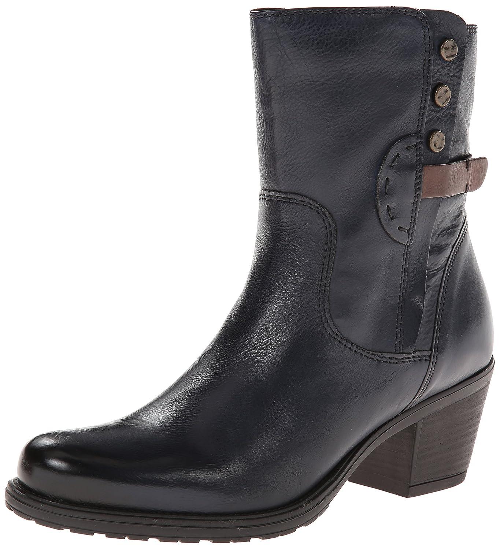 CLARKS Women's Maymie Skye Boot B00HWINKSW 6 B(M) US|Navy Leather