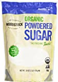 Woodstock, Evap Cane Sugar Powdered, At least 95% Organic, 16 oz