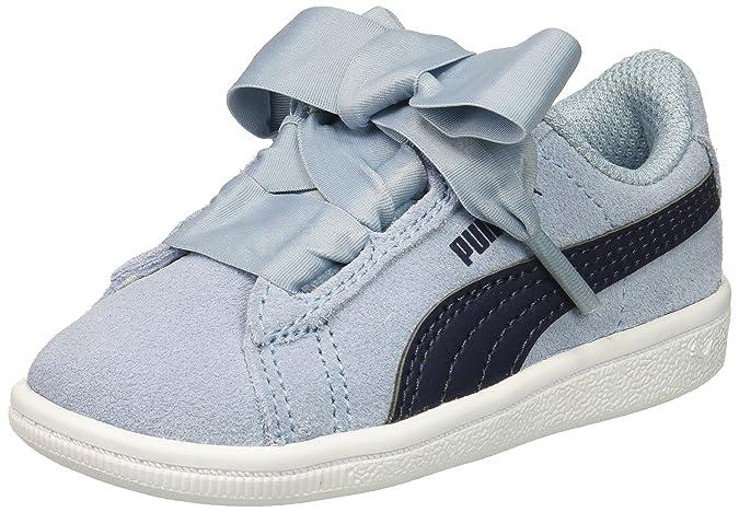 fc786f5c00 Amazon.com | PUMA Vikky Ribbon Ac Kids Sneaker | Sneakers