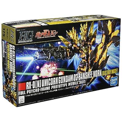 Bandai HGUC 175 Gundam RX-0 [N] Unicorn Gundam 02 Banshee Norn 1/144 Scale kit: Toys & Games