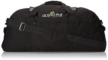 b313c6758a2d Olympia Luggage 30 Inch Sports Duffel Bag, Black, One Size