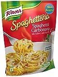 Knorr Spaghetteria Spaghetti Carbonara mit Sahne und Speck, 5er Pack (5 x 174 g)