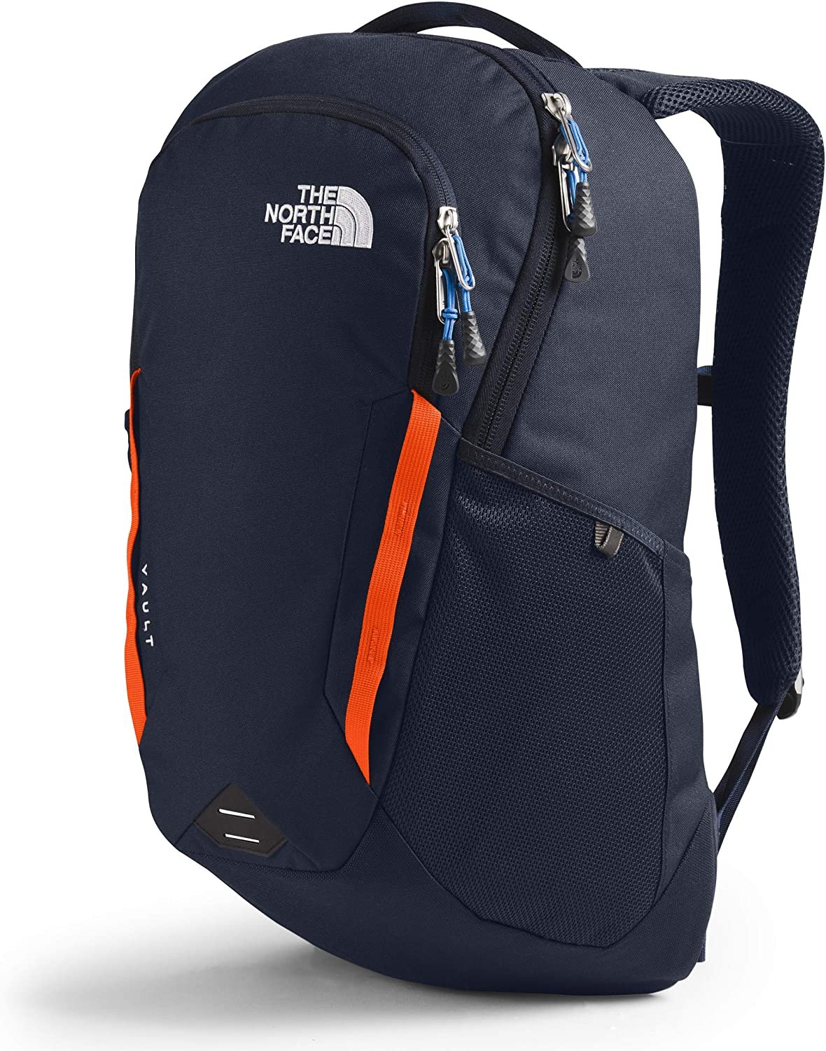 TNF DARK GREY HEATHER// P ORANGE DAYPACK A3KV9 THE NORTH FACE VAULT BACKPACK