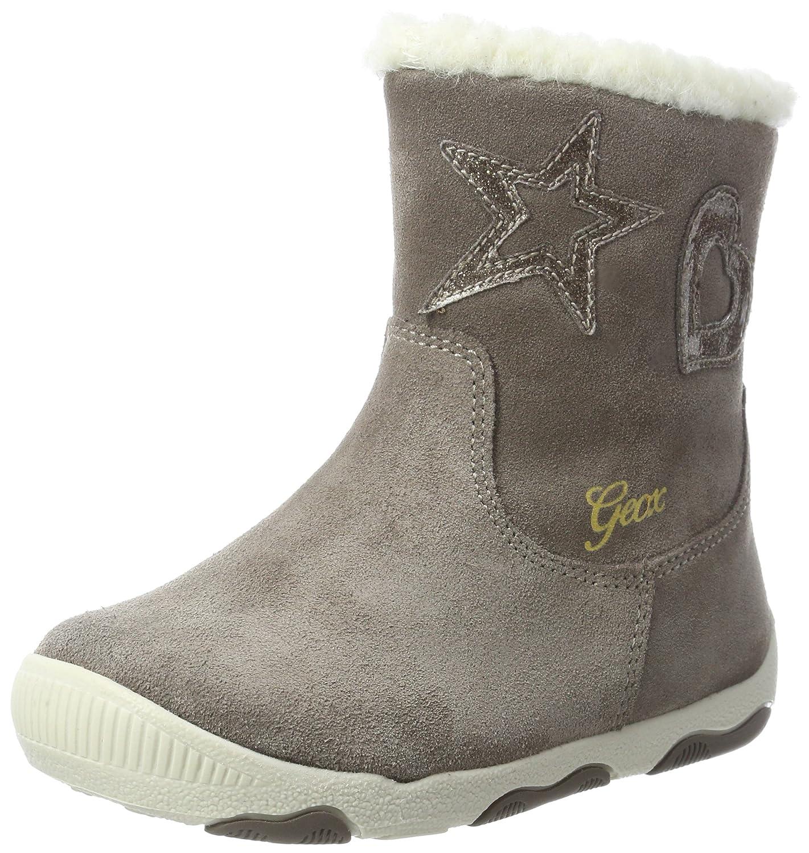 Geox B New Balu Girl B - Botas de senderismo Bebé-Niños, Marrón (Smoke Grey), 18 EU: Amazon.es: Zapatos y complementos