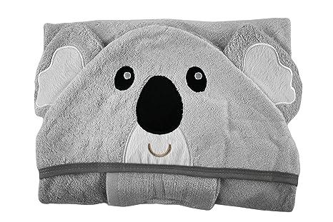 tinydo – Toalla con capucha Koala + Gratis Lavado Toalla 100% de fibra
