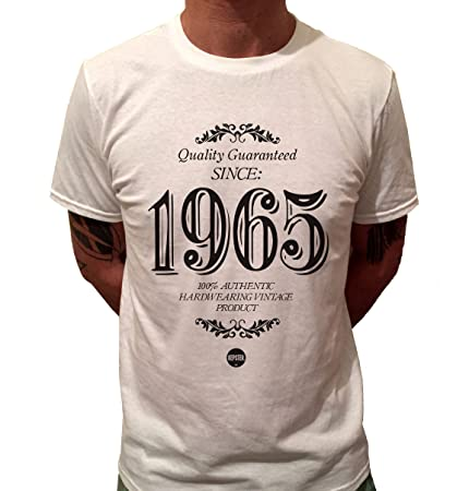 Kepster 50th Birthday T Shirt For Him 1965 Gift Idea Mens X Large
