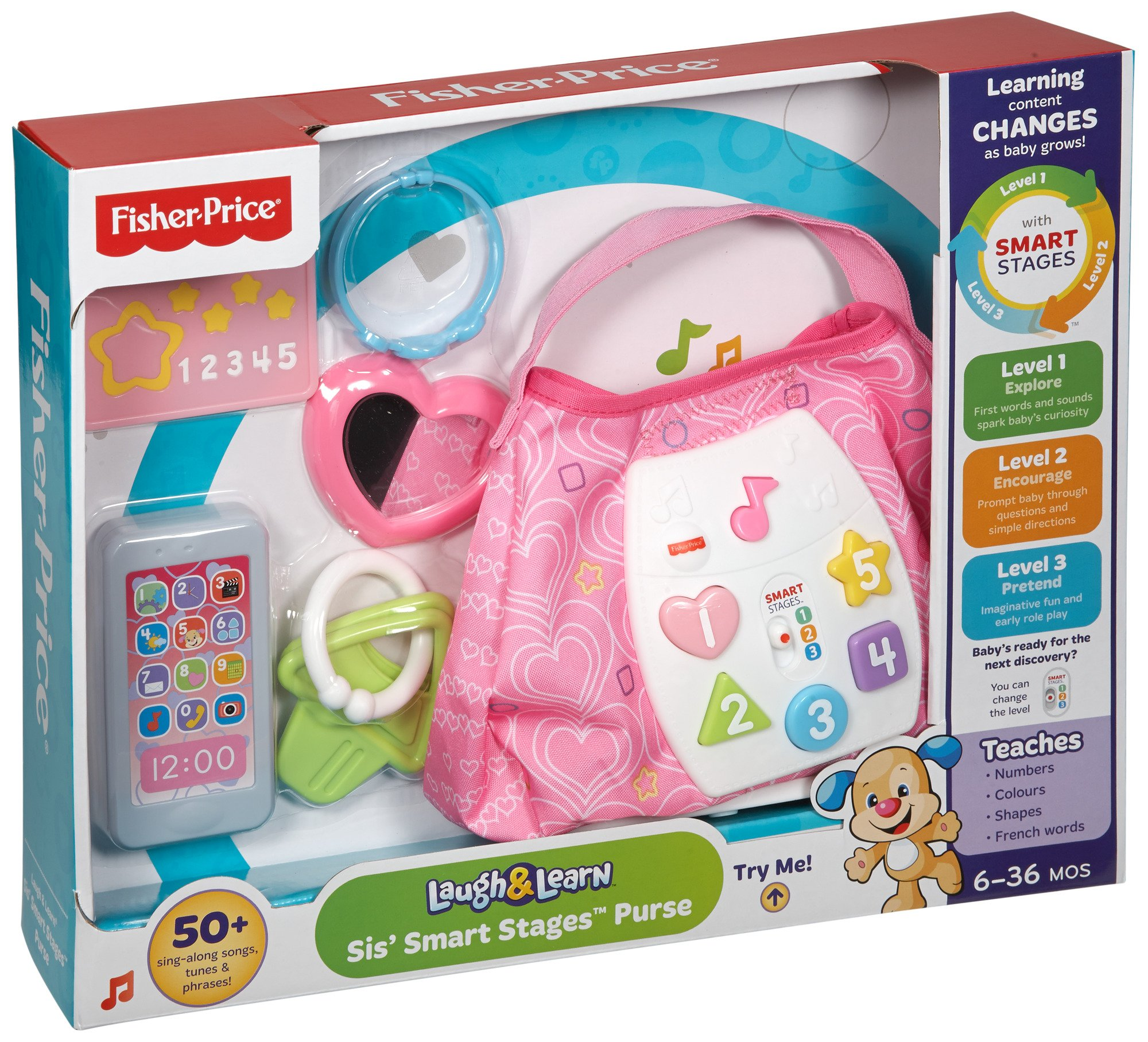 Fisher-Price Laugh & Learn Sis' Smart Stages Purse by Fisher-Price (Image #12)