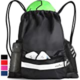 Athletico Drawstring Soccer Bag - Soccer Backpack for Boys or Girls Can Also Carry Basketball or Volleyball