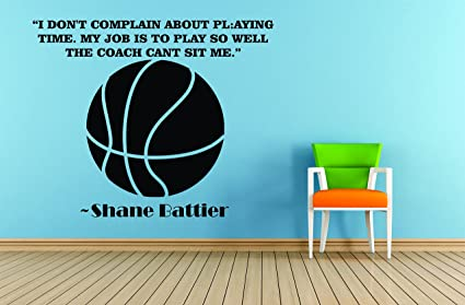 Amazon.com: Basketball Quotes Sports Decals Inspirational ...