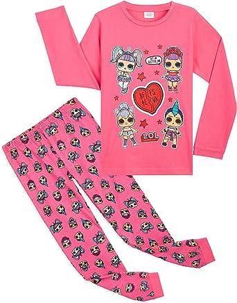 Baumwolle Winter M/ädchen Nachtw/äsche Surprise Kleine Geschenke f/ür Kinder L.O.L S/ü/ße Rosa P/üppchen BFF Pyjama Set 4-10 Jahren Schlafanzug M/ädchen