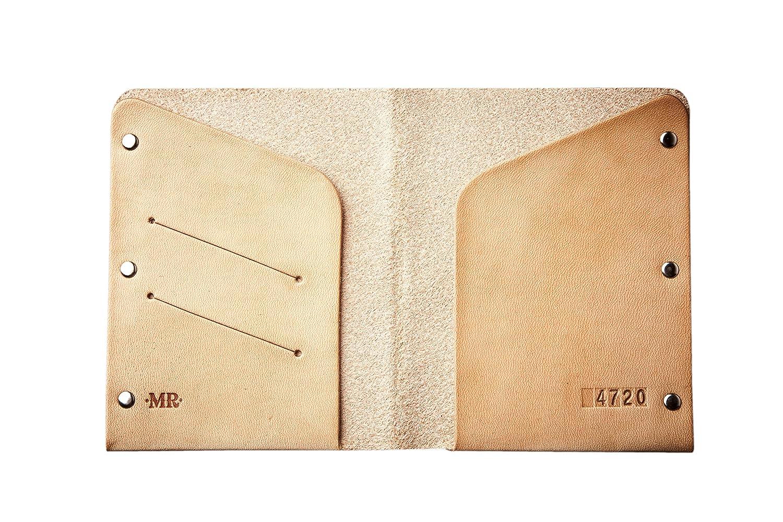 Mr Lentz Personalized Leather Passport Wallet