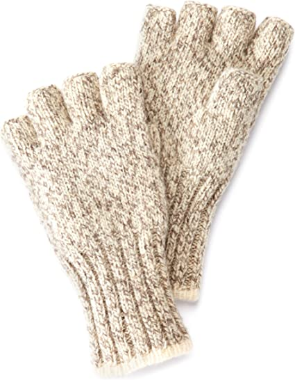 Medium Fingerless ragg gloves by Fox River
