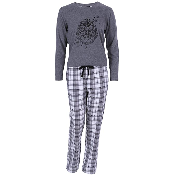 Harry Potter - Hogwarts - Pijama - para Mujer Gris Gris