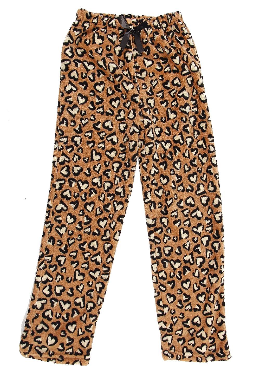 76336ee5bc7d Amazon.com  Just Love Cute Character Plush Pajama Pants for Girls - Fleece  PJs  Clothing
