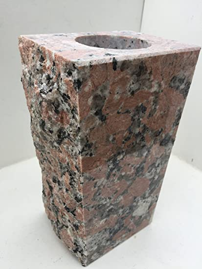 Amazon Granite Vase Tapered 5x4x9 Texas Pink Everything Else