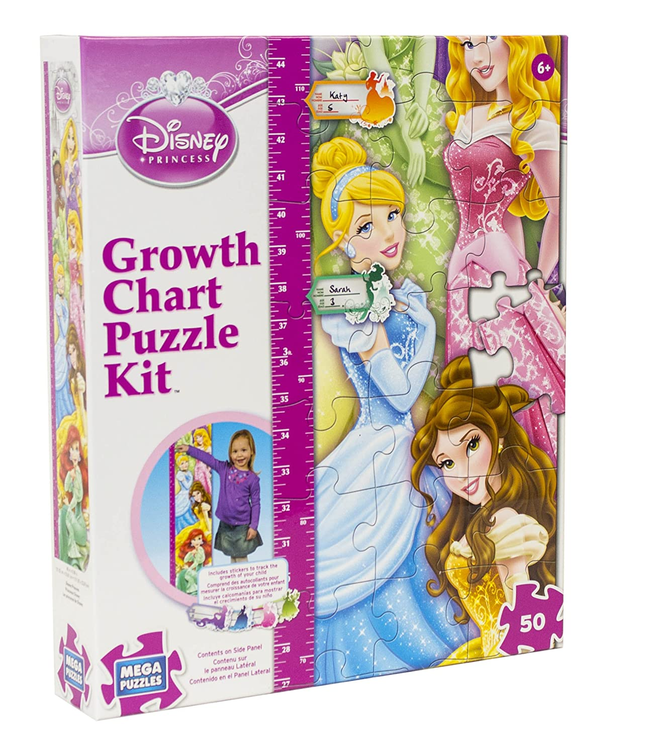 Amazon disney 50 piece disney princess growth chart puzzle amazon disney 50 piece disney princess growth chart puzzle toys games nvjuhfo Image collections
