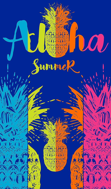 Aloha - Toalla de Playa de 100x170 cm. Tejido Jacquard Algodón 100%. Aloha Summer: Amazon.es: Hogar
