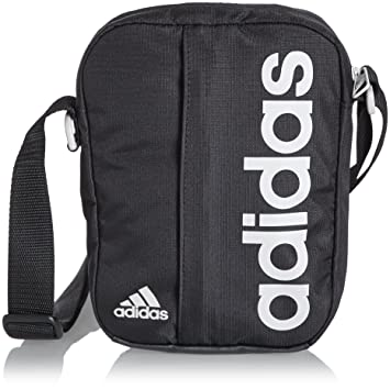 a7f1c139ad85 adidas Unisex s Linear Performance Organizer Bag-Black Pearl Grey ...