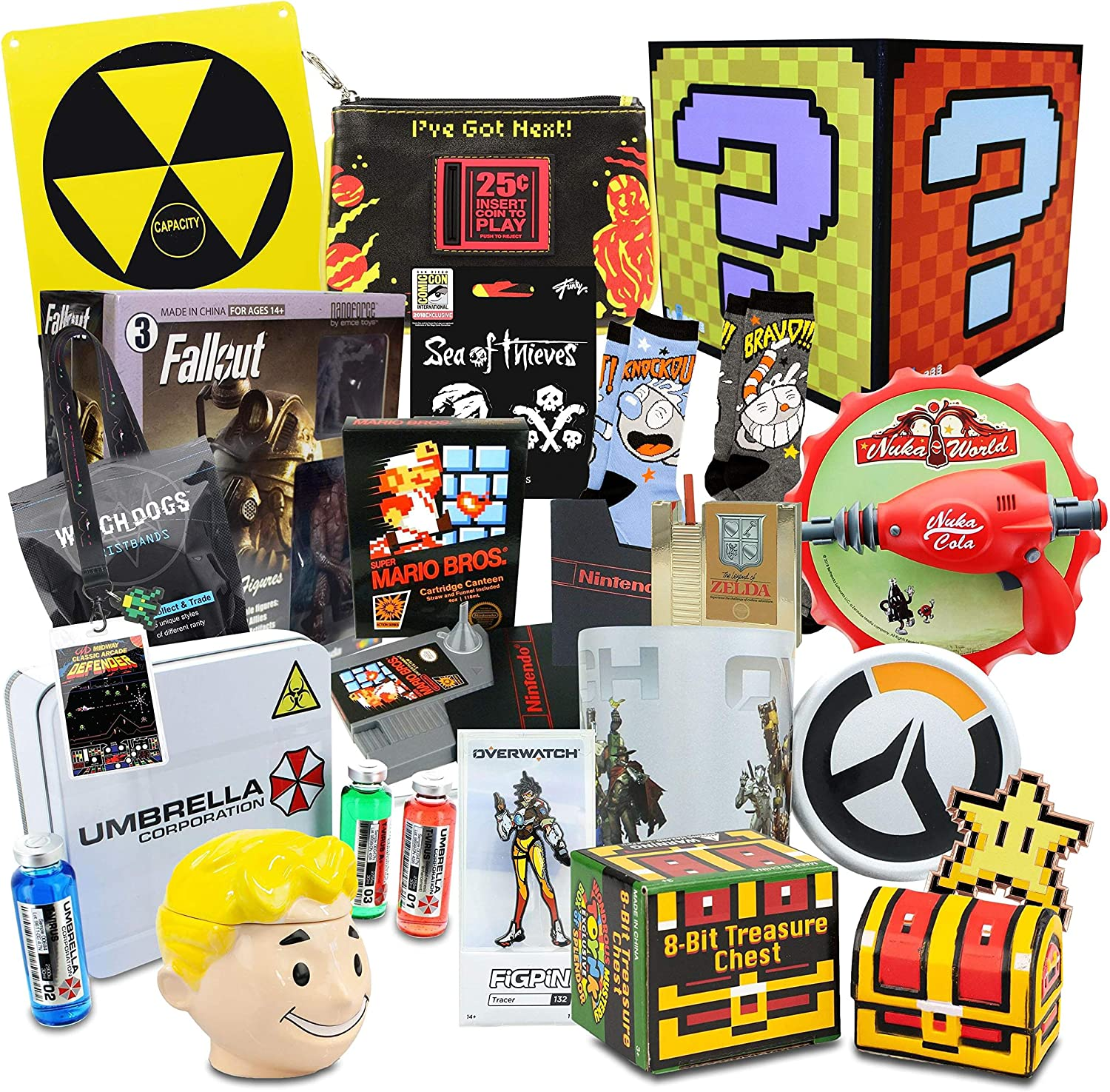 Toynk SuperLoot Gaming Mystery Gift Box   $249 Value   15+ Fun Items!