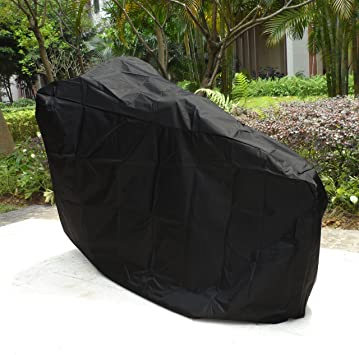 Outdoor Storage with a Bag ATCG Bike Cover 190T Nylon Waterproof Bicycle Cover for No More Than 29 Bike XL