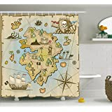 circo pirate bathroom set circo pirate shower curtain home amp kitchen 10605