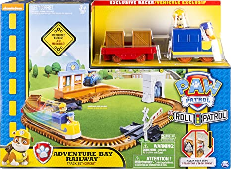 Spin Master 6028630 – Paw Patrol – On A Roll Rescue Train