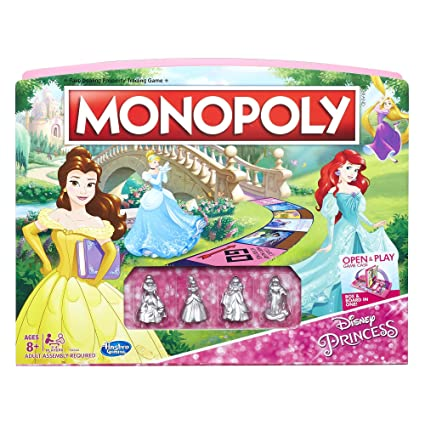 Monopoly Game Disney Princess Edition