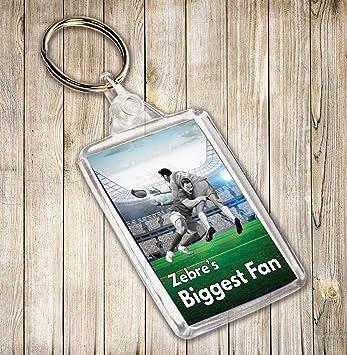 Zebre de Biggest ventilador Rugby temáticas de llavero ...