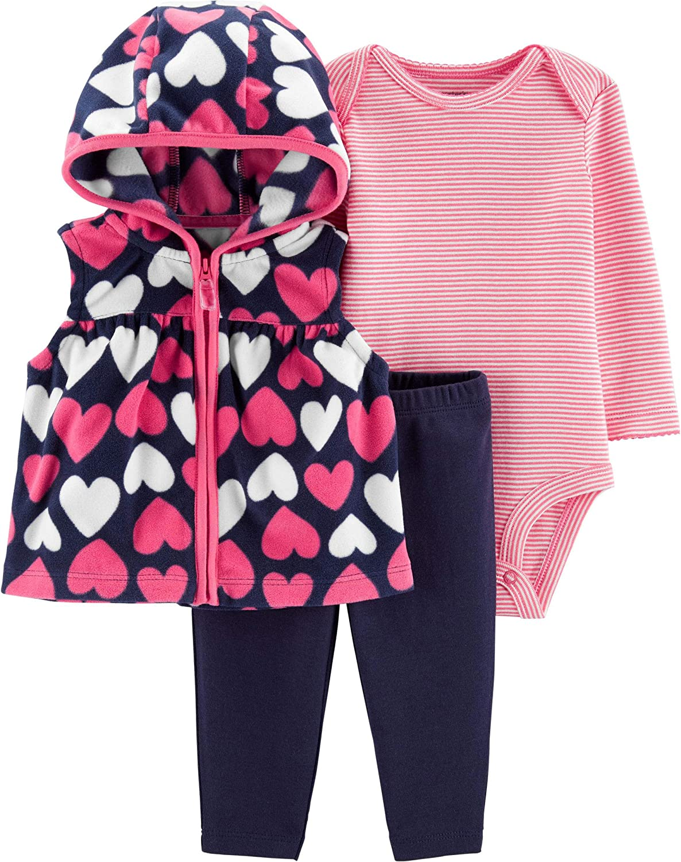 Carter's Baby Girls' Vest Sets