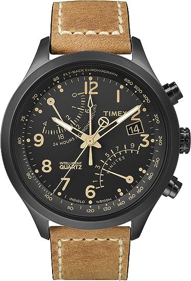 "e3d0066543cd Timex Intelligent - Reloj brazalete de cuarzo con cronómetro ""Fly-back"""