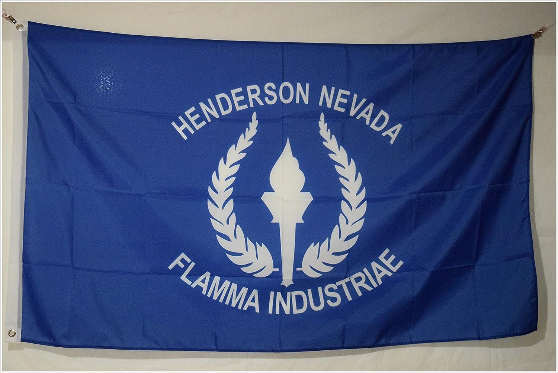 Apedes Henderson Nevada Garage Hangar Basement Flag 2x3 Feet
