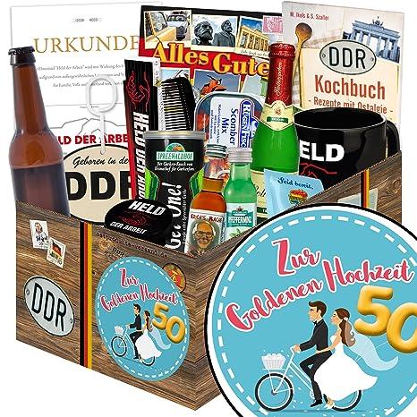 Zur Goldenen Hochzeit Männer Geschenkbox Geschenk Box
