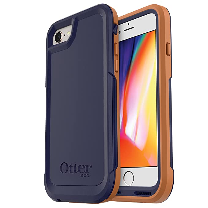 the latest bfaee 03eb7 OtterBox Pursuit Case for iPhone 7/iPhone 8 - Retail Packaging - Desert