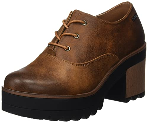 MTNG Jes, Botines Mujer, Marrón (Karma Cuero), 41 EU: Amazon.es: Zapatos y complementos