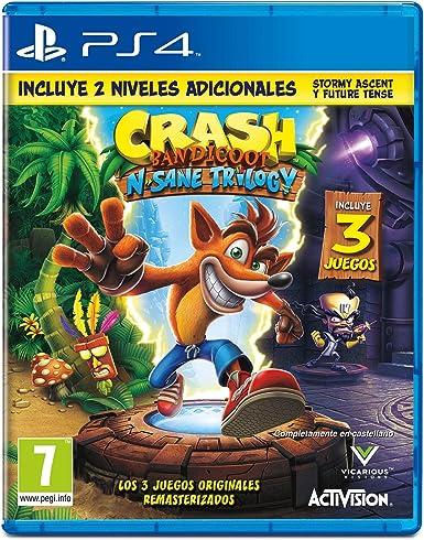 Crash Bandicoot N.Sane Trilogy: Amazon.es: Videojuegos