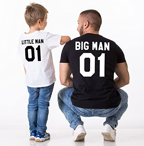 7f2bdd060 Amazon.com: Big Man Little Man 01 Father Son Shirts: Handmade