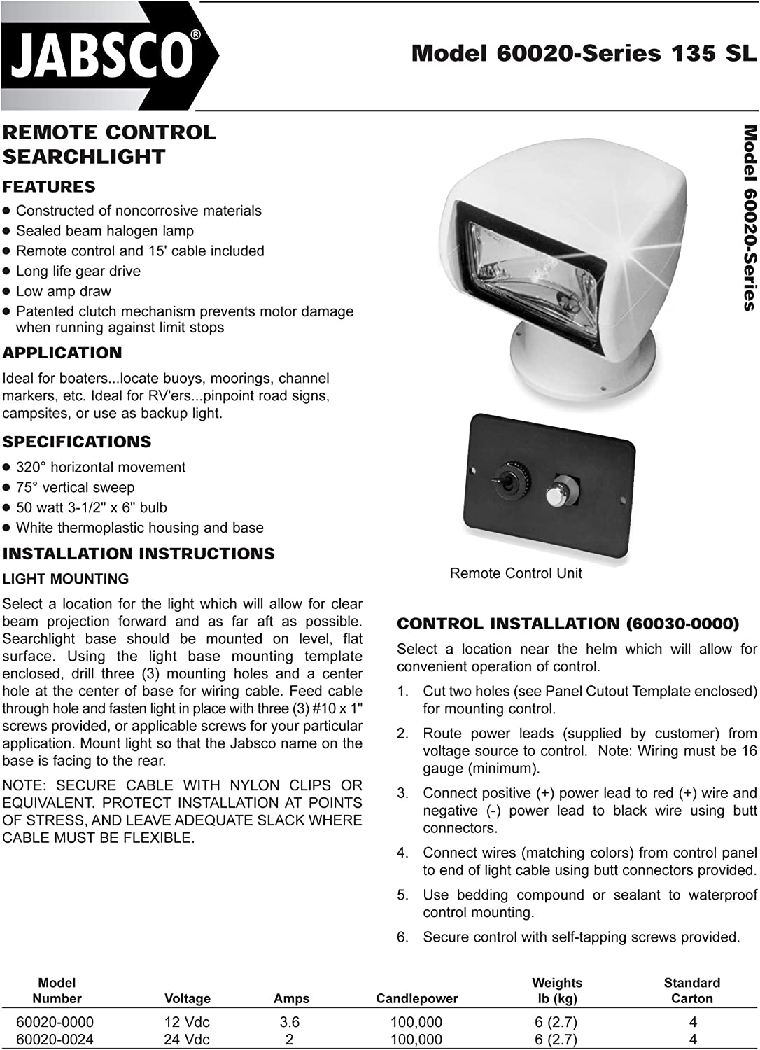 Jabsco Searchlight Wiring Diagram from images-na.ssl-images-amazon.com