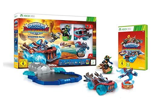 skylanders superchargers starter pack xbox 360 amazon co uk pc rh amazon co uk Skylanders Giants Xbox 360 Xbox 360 Skylanders Mega Pack
