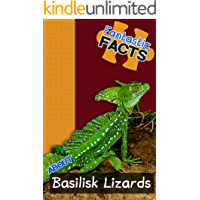Fantastic Facts About Basilisk Lizards: Illustrated Fun Learning For Kids (English Edition)
