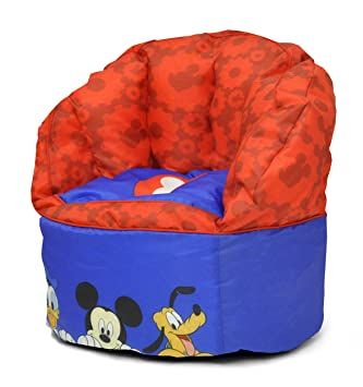 Disney Mickey Mouse Toddler Bean Bag Chair Blue